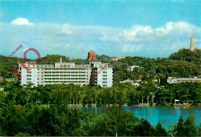 Picture Postcard~ Kwangchow, China, Distant View Of The Tungfaug Hotel