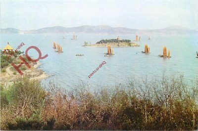 Picture Postcard-:Lake Taihu, As Viewed From The Three Hills