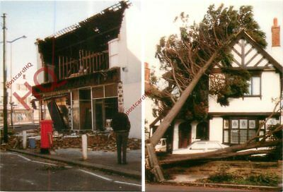 Picture Postcard--The 1987 Hurricane, Damage, The Great Storm