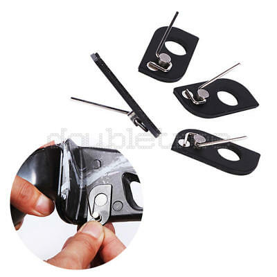 Black Alloy Magnetic Archery Hunting Recurve Arrow Rest Shooting Accessory Tool