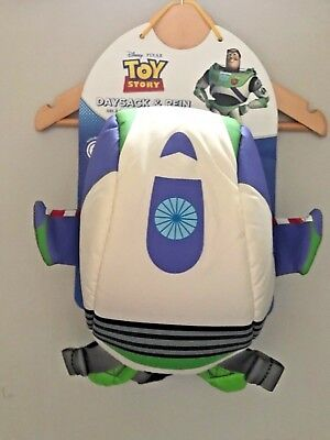Littlelife Disney Toy Story Buzz Lightyear Backpack Bag with Rein