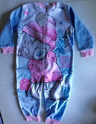 Girls Fleece All in One with Tatty Ted detail