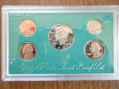US Mint Proof Set 1997 Münzsatz USA in OVP