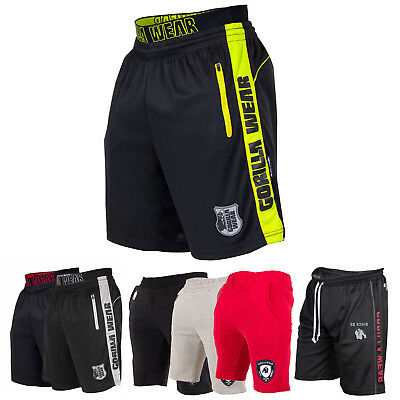 Gorilla Wear Kurze Hosen Fitness Gym Bodybuilding Sporthose Trainingshose