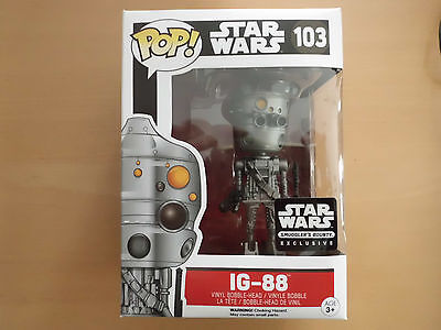 Funko POP! Star Wars IG-88 Smuggler´s Bounty Exclusive NEU/ungeöffnet!