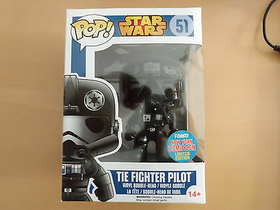 Funko POP! Star Wars Tie Fighter Pilot New York Comic Con Lim. NEU/ungeöffnet!