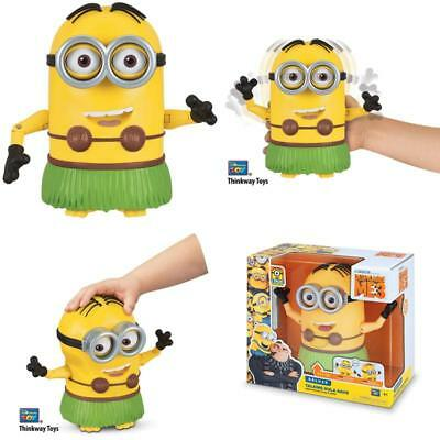 Despicable Me Talking Hula Minion Dave Toy Figure