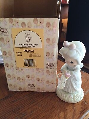Precious Moments1990 'MAY ONLY GOOD THINGS COME YOUR WAY' - 524425 - with Box