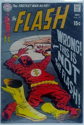 DC The Flash #191 (1969) Great Condition key cgc ready