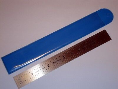 "Blue Point by Snap-on 6"" Precision Machinist Ruler Scale 10th 100th YA421 New"