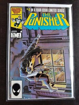 The Punisher #4 Near Mint (April 1986, Marvel)
