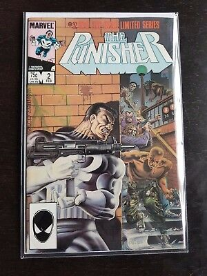 The Punisher #2 Near Mint (Feb 1986, Marvel)