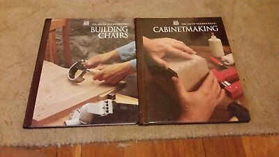 2 Time Life Books - CABINETMAKING - BUILDING CHAIRS - Art of Woodworking