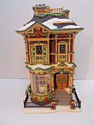 DEPT 56-58717 VICTORIAN FAMILY CHRISTMAS HOUSE NEW c
