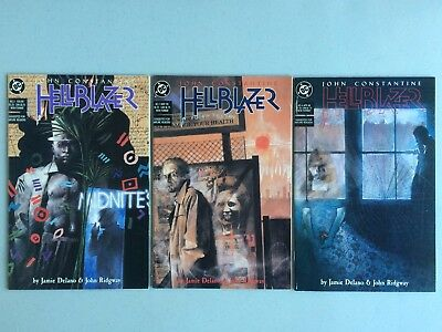 Hellblazer #2, 3 and 4 *HIGH GRADE!*