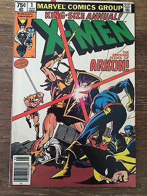 Uncanny X-Men King Sized Annual #3 *Arkon!* VF