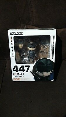 Nendoroid, Metal Gear Solid, Solid Snake 447 - Good Smile