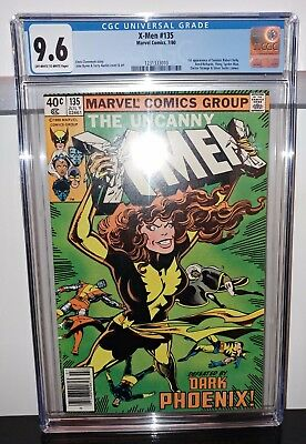 Uncanny X-Men #135 - CGC 9.6 OWW Pages - Dark Phoenix