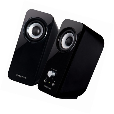 Creative Inspire Multimedia Speaker System with Bass Flex Technology Color Black