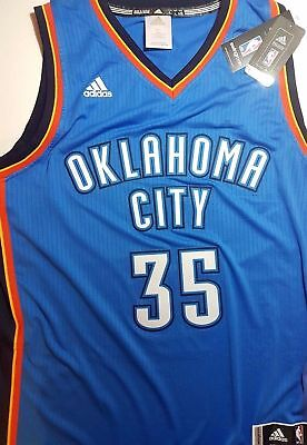 NBA OKLAHOMA CITY ADIDAS Swingman Basketball Genuine Jersey Shirt #35 DURANT OKC