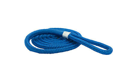 Pack of 2 Double Braided Fender Lines 10mm x 1.6m, Blue