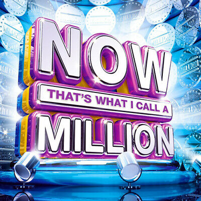 Various Artists : Now That's What I Call Million CD Box Set 3 discs (2018)