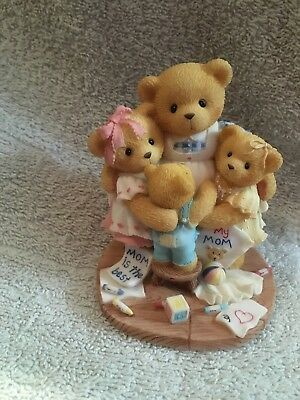 New In Box Cherished Teddies Katie,Renee,Jessica and Matthew 1988 (538299)