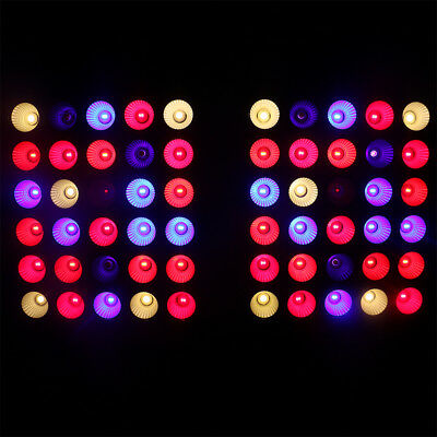 600W Reflector Dual Core LED Grow Light Full Spectrum Plant Bloom Veg Fill Light
