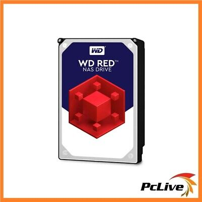 "Western Digital WD Red 4TB NAS Hard Drive Disk SATA III 3.5"" 64MB Cache WD40EFRX"
