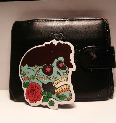 day of the dead roses sticker
