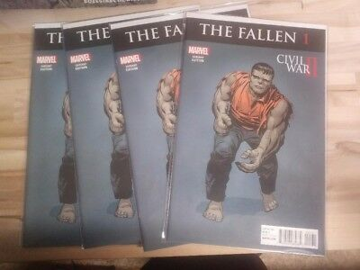 The Incredible Hulk The Fallen lot of 5 comics excellent