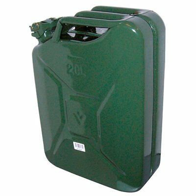 Carpoint 0110009 Tanica Da 20 L In Metallo Tuv/gs Verde