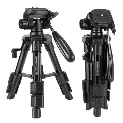 New ZOMEI Q100 Aluminum Alloy Professional photography Tripod for DSLR Camera