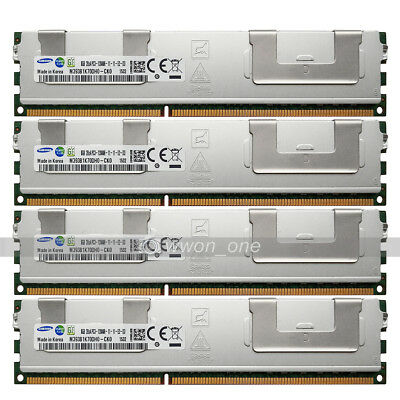 New Samsung 32GB 4X8GB 2RX4 PC3-12800R DDR3-1600Mhz ECC REG Server Memory Module