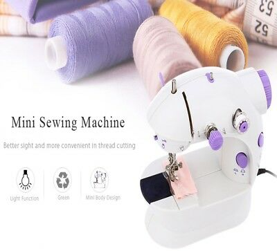 Desktop Sewing Machine Electric Portable Handheld Multi-function Double Speed