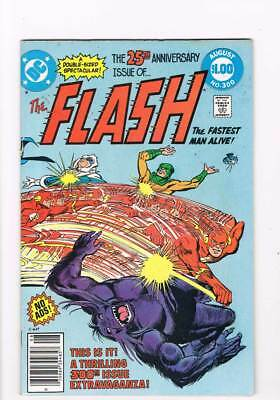 Flash # 300  25th Anniversary Issue !  grade 5.5 scarce book !!