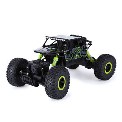 HB P1801 2.4GHz 1:18 Scale RC Car Crawler 4 Wheel Drive Rally Car 4WD Toy Green