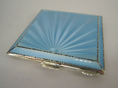 BELLISSIMO PORTACIPRIA IN ARGENTO STERLING - Birmingham - COMPACT POWDER (VP)
