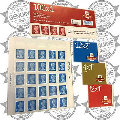100% Genuine Brand New 1st First 2nd Second Class Stamps Small Large Letter