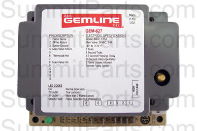 24V Ignitor Box Replaces Synetek Ds3-A, Adc 880815, 882627, 128937 - Gem-627