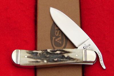Case XX Prime Vintage Stag Russlock Knife - #52965 USA - Only 500 Produced