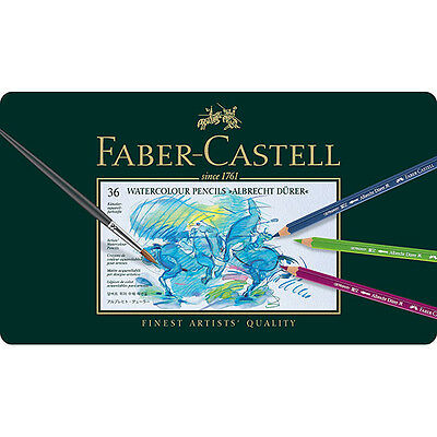 Faber-Castell - Albrecht Durer Watercolor Pencils - Tin of 36