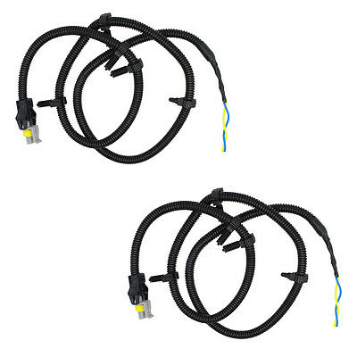 Pair of Wire Harness Pigtail Plug for ABS 2x abs wheel speed sensor wire harness plug pigtail for buick  at crackthecode.co