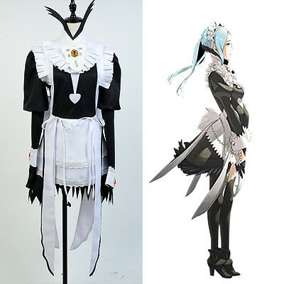 Fire Emblem Fates Flora Maid Dress Copslay Costume For Women Girls