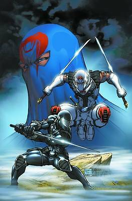 GI JOE #21 SNAKE EYES VS STORM SHADOW POSTER Michael Turner Cobra Rolled Sealed