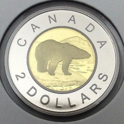 2015 Proof Canada 2 Two Dollar Toonie Uncirculated Canadian Coin C268