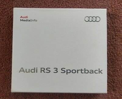 AUDI Press Kit 2011 RS3 Sportsback Inc USB Stick Brand New