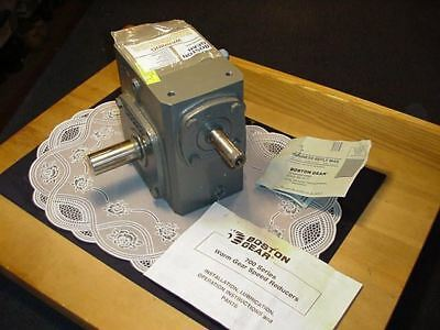 Boston Gear 724-40-G Speed Reducer 1750 RPM, Ratio 40 to 1, Gear Box, NEW IN BOX