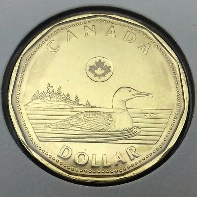 2015 Canada 1 One Dollar Loonie Uncirculated Canadian Coin Not In Case C278