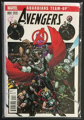 Guardians Team-Up #1 NM+ AVENGERS GUARDIANS OF THE GALAXY VARIANT Marvel Comics